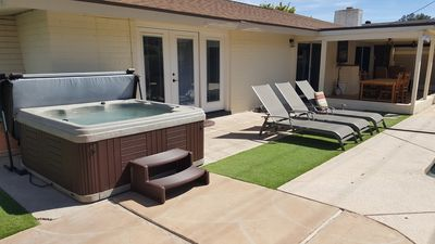 Photo for Old Town Scottsdale 5 bedroom new hot tub and pool =  FUN !