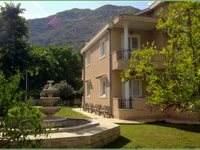 Photo for De lux family apartments in private park near the beach Risan / Kotor county