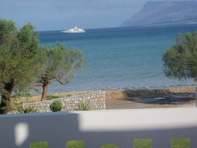 Photo for Waterfront Apartment  20 meters from the  sea
