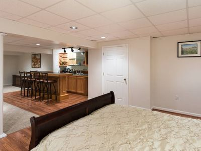 Photo for Huge basement minutes away from Gaylord/MGM/Washington Harbor
