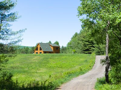 Photo for Haystack Hideaway: a very private home, yet close to town & pet friendly!