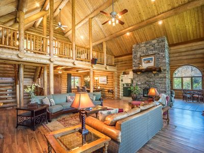 Photo for Mountainside luxury and 'forever' views at Bear Lodge with 4500 square feet