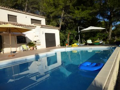 Photo for Beautiful villa with pool and comfort.