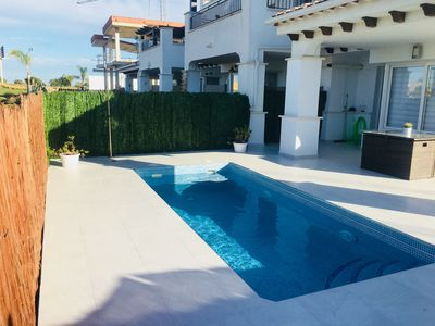Photo for REDUCED LATE CANCELLATION  !! 2 bed Townhouse Mar Menor Golf resort private pool