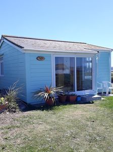 Photo for Two bedroom holiday chalet. Five minute walk to the beach
