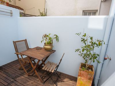 Photo for Blue House apartment in Campo Pequeno with WiFi & private terrace.