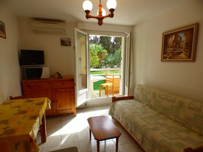 Photo for APARTMENT CLIMATISE. 200M FROM THE BEACH. WELL EQUIPPED