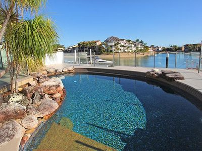 Photo for Waterfront Home on Canal with Pontoon in the heart of Mooloolaba