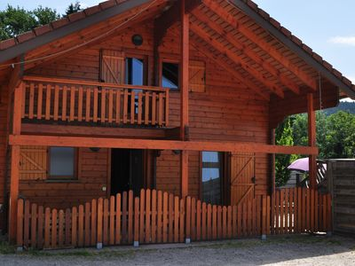 Photo for Chalet ECRIN beautiful lake view equipped for people with reduced mobility -sauna - wifi.