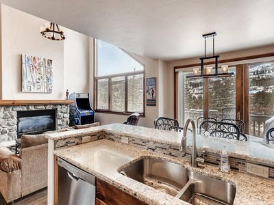 Photo for 3BR Townhome- Walk to Slopes & Kids Ski Free