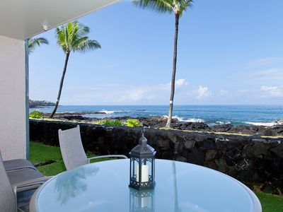 Photo for Upgraded Oceanfront 1br Ground Floor Condo - 1 1/2 Blocks to Town - Free Wifi