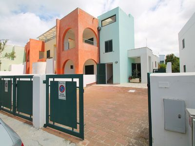 Photo for Baia Verde, brand new apartment 50 meters from the beaches