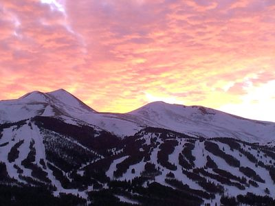 Photo for Spring Break Alpenrose Ski Condo Sleeps 6 - Breckenridge