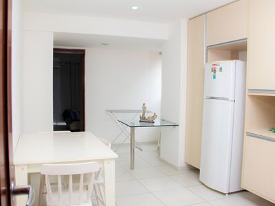 Photo for Furnished apartment, beach + pool, in Largo de Tambaú.