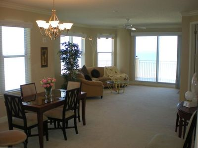 Spacious and Bright Living and Dining Rooms w/Ocean View