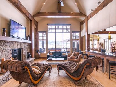 Photo for Amazing 5 BDR Mansion - Private Theater & Views!