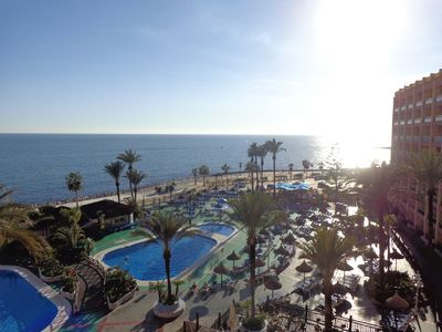 Photo for Benalmadena Holiday Apartment Sunset Beach Club 1 bedroom apartment