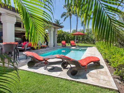 Photo for Villages at Mauna Lani, 1 level house w/private pool & hot tub, on golf course