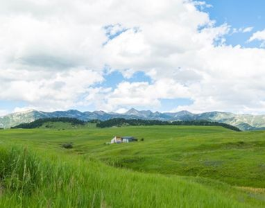 Photo for Modern Architecture, Open Range and Majestic Mountains