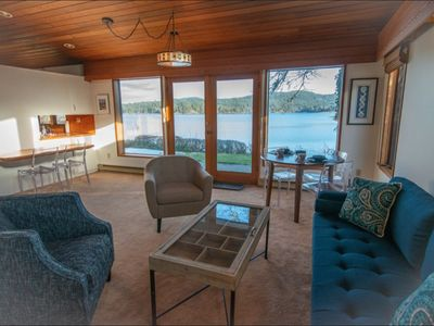 Photo for Private Waterfront House - 3 bedrooms, 2 full baths