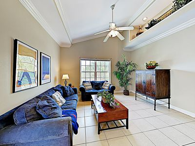 Photo for New Listing! Updated Mid-Island Condo w/ Pool – Short Walk to Beach