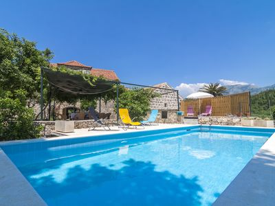 Photo for Hidden Paradise Near Dubrovnik : Peace, Space, Privacy, Views, Close to Beach