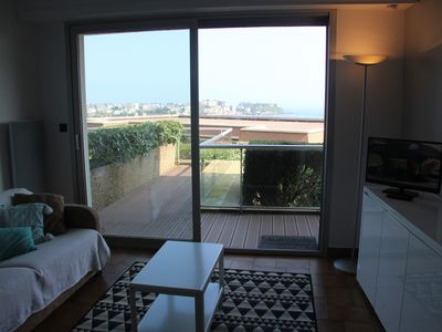 Photo for T2 apartment near beach with sea view
