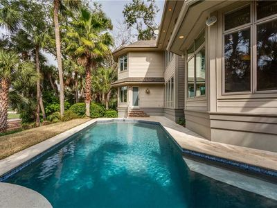Photo for Beautiful Sea Pines Home w/ Private Pool, and Short Walk to Beach!