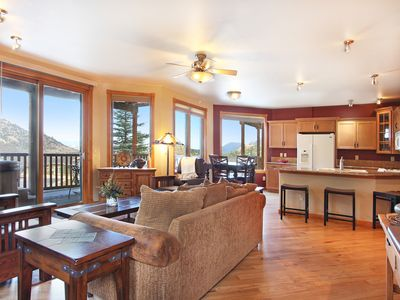 Photo for Terra Tomah Mountain 40B - 2 Br condo with private hot tub, Marys Lake and mountain views!
