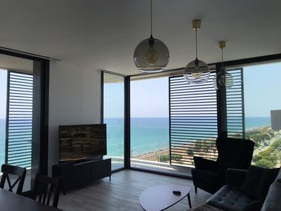 Photo for New apartment with perfect sea view near beach.
