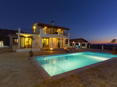 Villa Peristerona Hills -  A Secluded Stone Built villa that sleeps 6 guests  in 3 bedrooms