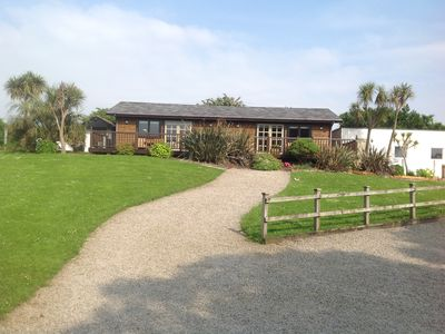 Photo for Cowslip Kabyn - Set In Enclosed Two Acre Garden in the St Ives Bay Area