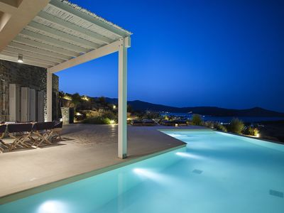 Photo for VIP villa for large groups, w/ private pool, 10-minute walk from the beach