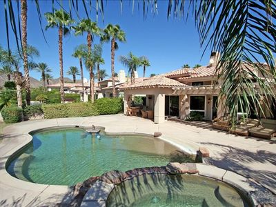 Spa, Pool and Lanai with Built In BBQ. Perfect for Entertaining!