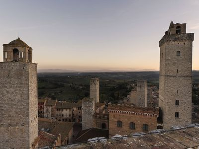 Photo for City  / Village Apartment in San Gimignano with 2 bedrooms sleeps 3