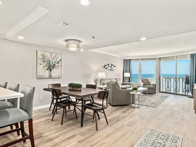 Photo for NEW! Direct OCEANFRONT 12th Floor Luxury Condo