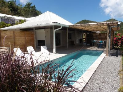 Photo for Charming villa between sea and mountains with private pool