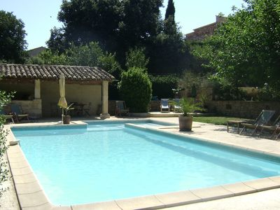 Photo for PROVENCAL HOUSE WITH POOL 6/8 PEOPLE IDEAL VACATION FRIENDS / FAMILY