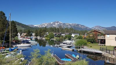 Photo for Alpine Tahoe Keys Waterfront Home with Awesome Mount Tallac Views & Private Boat Dock