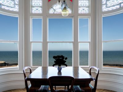 Photo for Bellevue by the Bay - Luxury Beachfront Period Home with Panoramic Sea Views