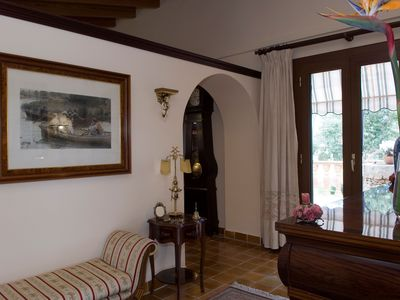 Photo for Rustic Holiday House Es Fasser with Pool, Garden, Terraces & Wi-Fi; Parking and Garage Available