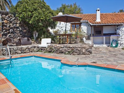Photo for This 2-bedroom villa for up to 4 guests is located in Granadilla and has a private swimming pool....