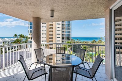 Balcony Seating with Gulf