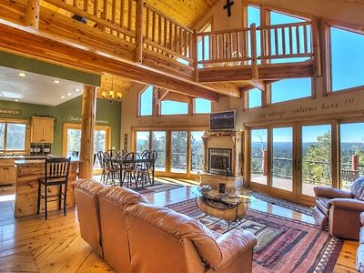 Photo for Eagle Trail-Amazing View, Close to Skiing/Snowmobile/ATV trails, Pool Table