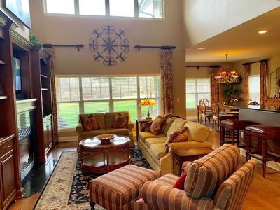 Photo for Geneva National - Beautiful Home on Lee Trevino Golf Course w/Patio & Grill