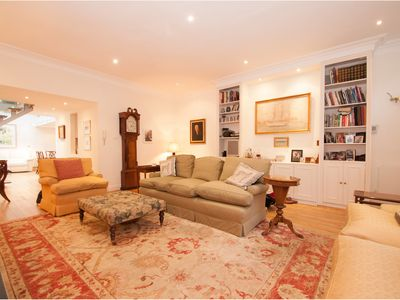 Photo for Stunning Airy 3 Bedroom House in Notting Hill, sleeps 6 (Veeve)