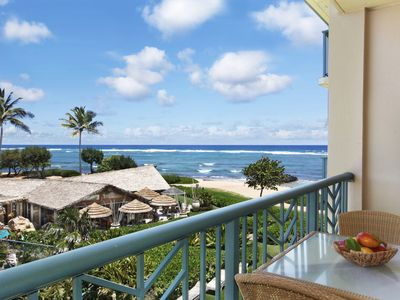 Photo for H304 - BEAUTIFUL CORNER OCEAN VIEW **AC** Resort Pool & Restaurant