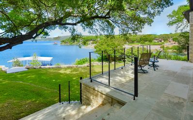 Photo for NEW!! Lake Travis Main Basin, Waterfront with Dock, Near The Oasis, Downtown