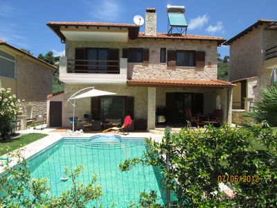 Photo for Villia with own private swimming pool : second property Number 10665235 Chalet.