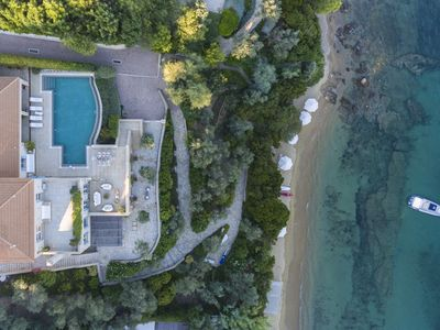 Photo for Goldie 5-Bedroom Beachfront Villa Skiathos